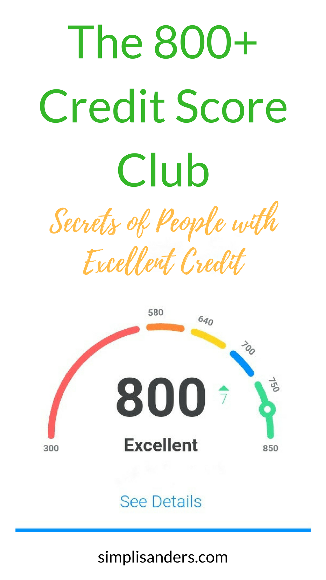 Good credit is nice, but excellent can get you the best perks around. Learn the secrets that people in the 800+ credit score club do to improve credit score. #improvecreditscore #howtogetexcellentcreditscore #howtoimprovecreditscore