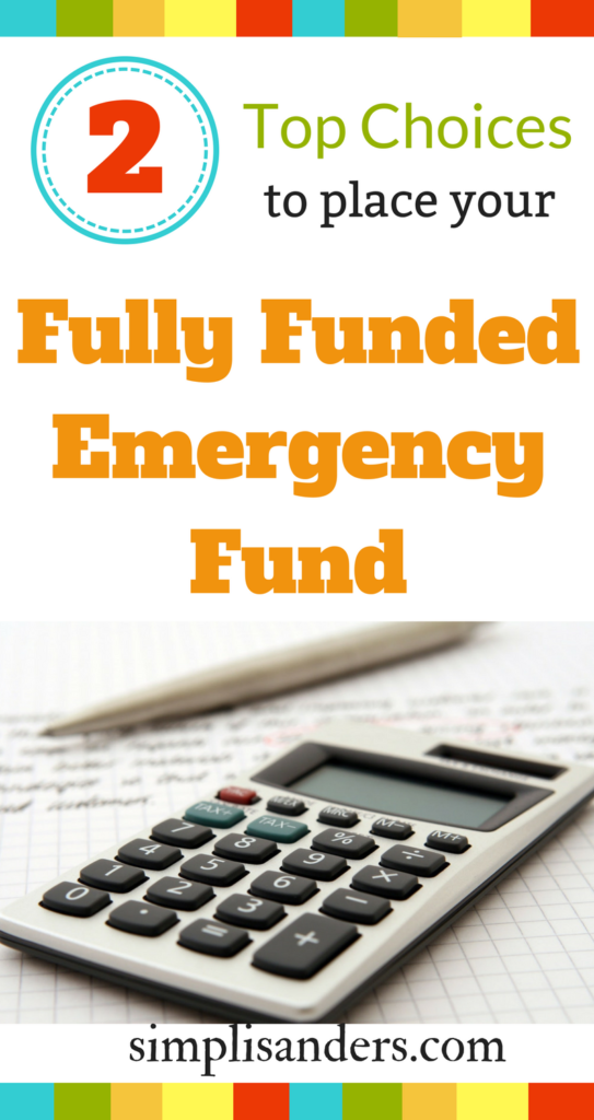 Struggling to find the best place to stash your savings for maximum profit? Place your fully funded emergency fund in one of two places from top experts. #fullyfundedemergencyfund #emergencyfund #savingsaccounts #savingmoney #debtfree