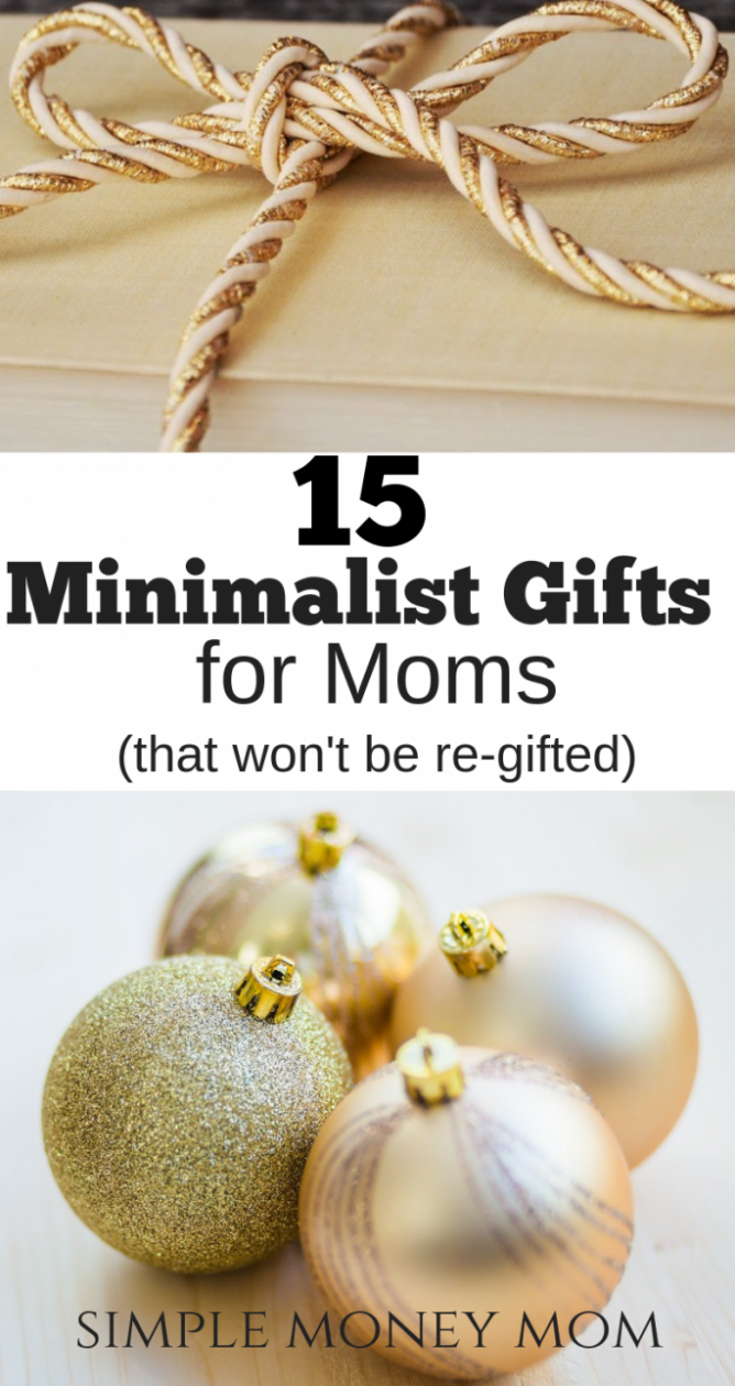 Looking for what to get a mom for Christmas? This is a must-have list of the top 15 gifts for moms by moms. You'll never go wrong with buying any of these gifts for Christmas. #giftsformoms #christmasformoms #minimalistgiftsformoms #Christmasgifts #giftguide #simplemoneymom
