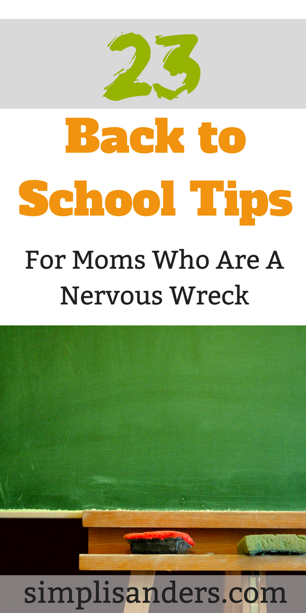 Are you nervous about your child's first day of school? Wondering if there is any way you can make it easier on him, err yourself? Check out some of these tips from mamas who have been there and done that. They share their best advice. #backtoschool #backtoschooltips #school #kindergarten #preschool #firstgrade