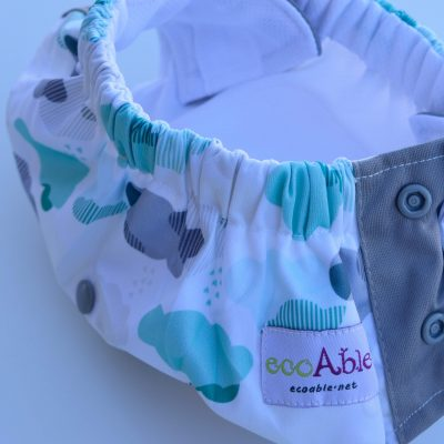 EcoAble 3in1 Cloth Diaper as Potty Training Diaper