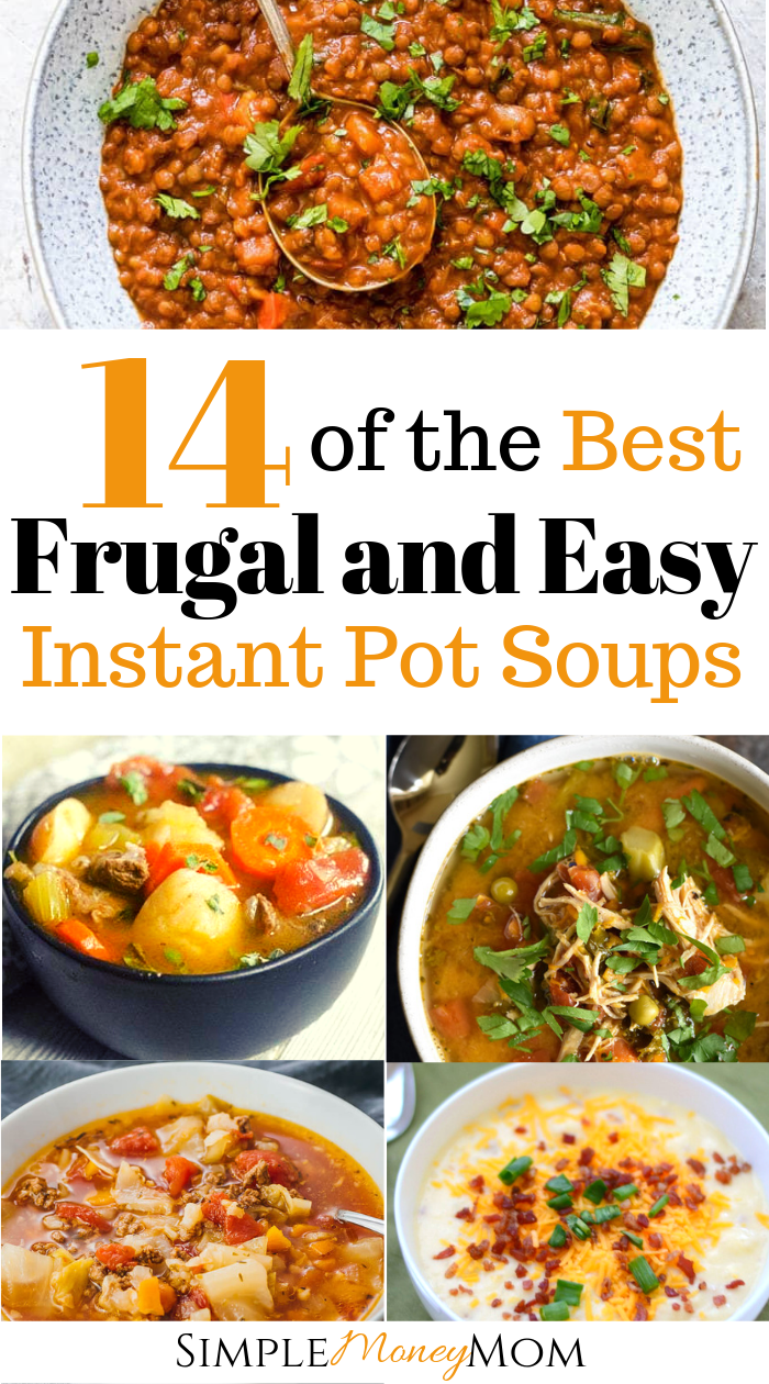 THIS IS SUCH A TIME SAVER! I keep looking for easy instant pot soups and here it is. Going to be cooking these easy soups to help with busy nights. So thankful for the instant pot, definitely helps me save money and time. #instantpot #timesaver #instantpotrecipes #souprecipes #simplemoneymom