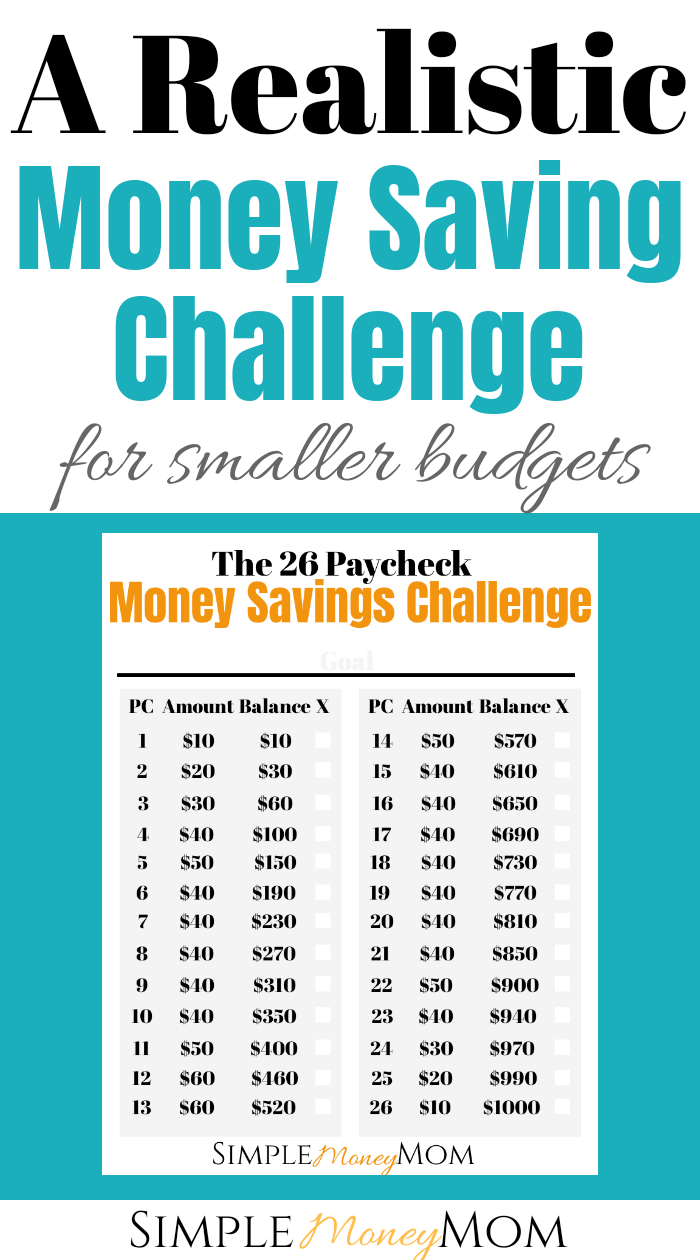 Yes!! I'm definitely doing this money savings challenge. It seems much simpler than others I have seen and very doable. Maybe I will finally get to save money this year! #savingmoney #moneytips #financiallyfree #budgeting #simplemoneymom