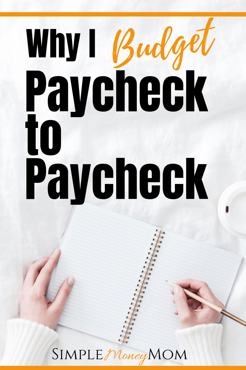 Why didn't I think of this?! This article shows you exactly how to budget by paycheck. I'll be setting my budget up tonight!!