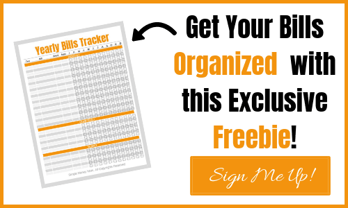 Organize your bills with this printable Yearly Bills Tracker. Never miss a payment again.