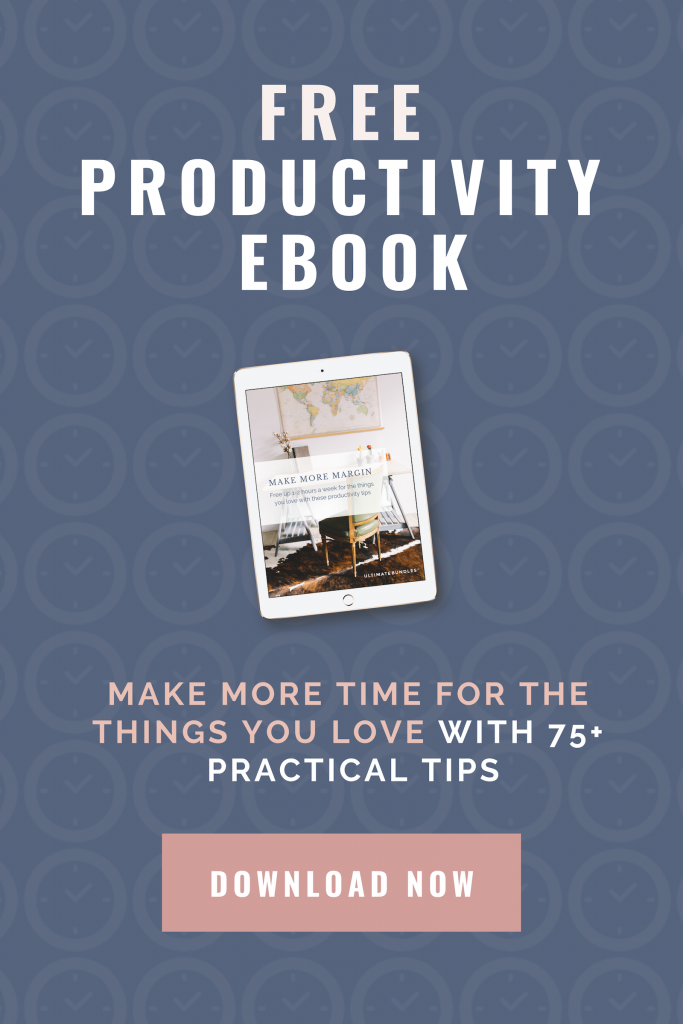 Increase Your Productivity with this FREE eBook!