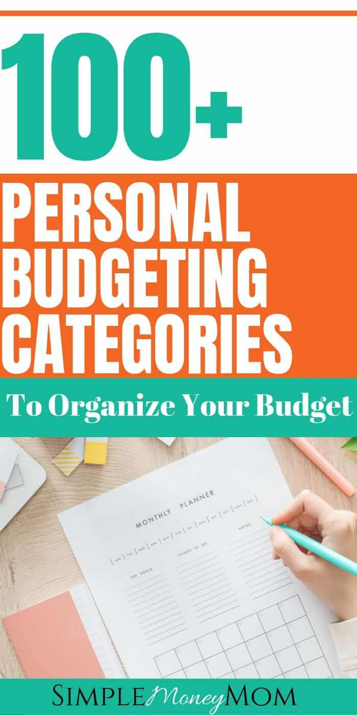 If you don't know which budgeting categories to include in your budget, it could result in a failed budget. When tracking your spending, make sure to include the appropriate budget categories. This way, you can effectively manage your budget. #budgeting101 #budgetingcategories #personalfinance #savingmoney #simplemoneymom