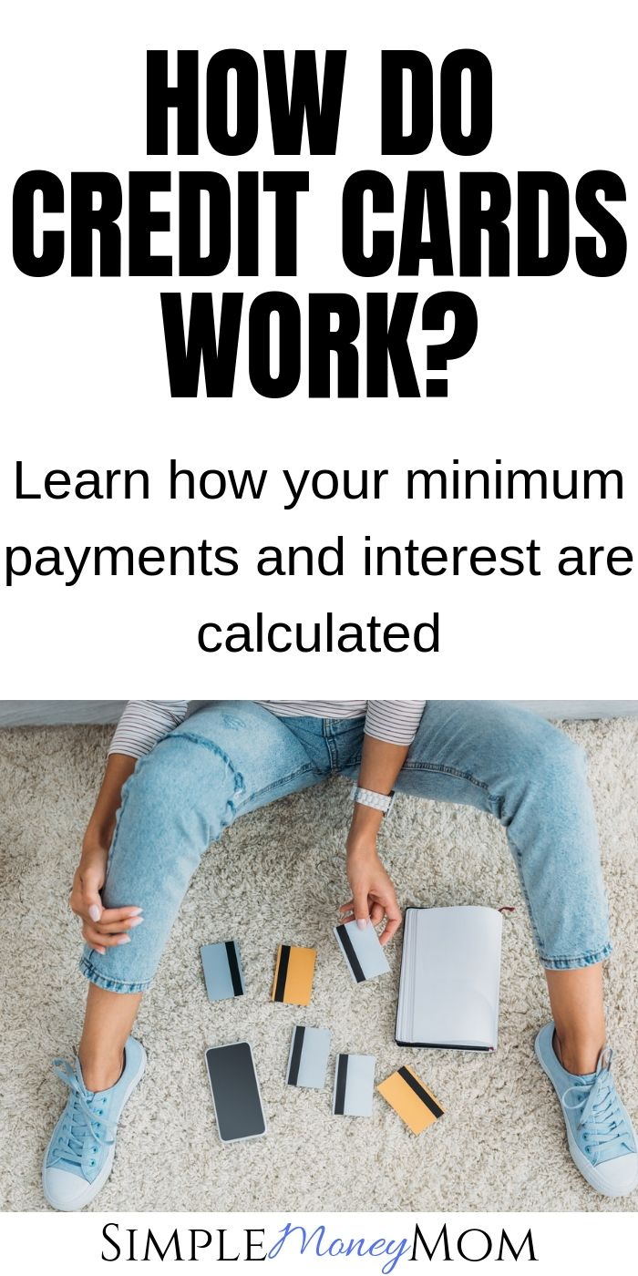 Do you know  what APR is? Do you know how your minimum payment and interest is calculated? What about grace periods? Learn basic but very important credit card topics to be well informed. #creditcards #financialeducation #credit #interest #minimumbalance #simplemoneymom