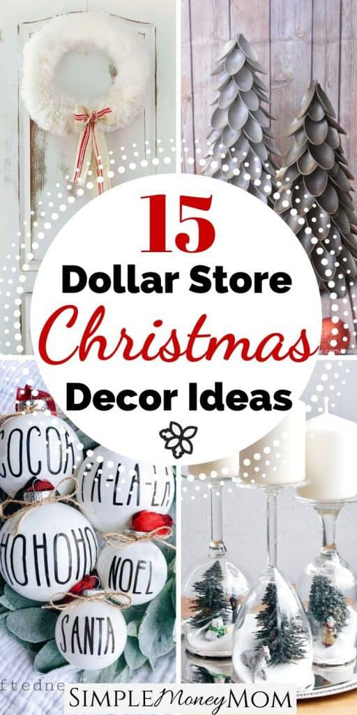 The Best Farmhouse Dollar Store Christmas Decor On The Web